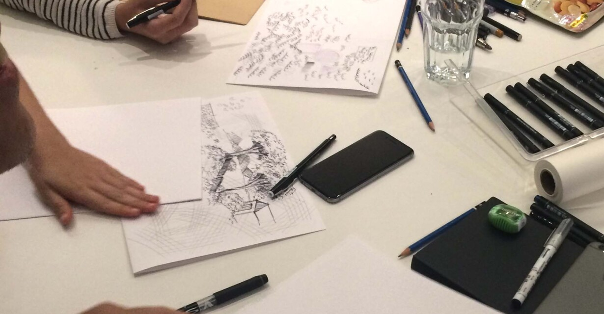 The WATG Singapore Sketching Workshop | Blog | WATG