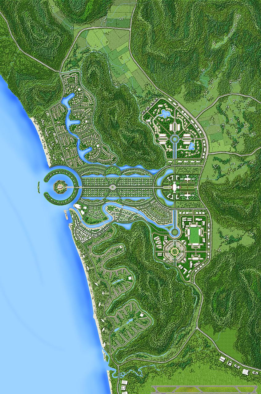 Phu Quoc Island Vietnam WATG Plan 2