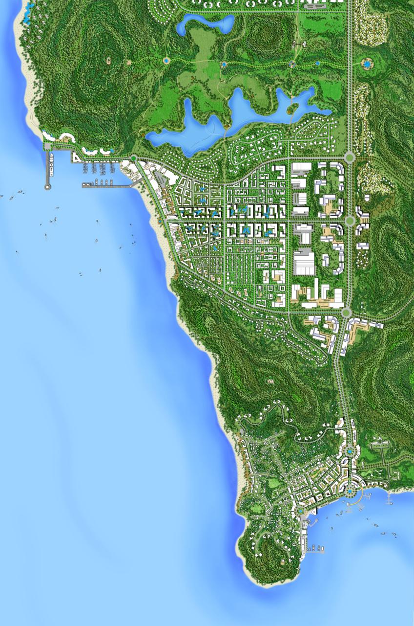 Phu Quoc Island Vietnam WATG Plan1