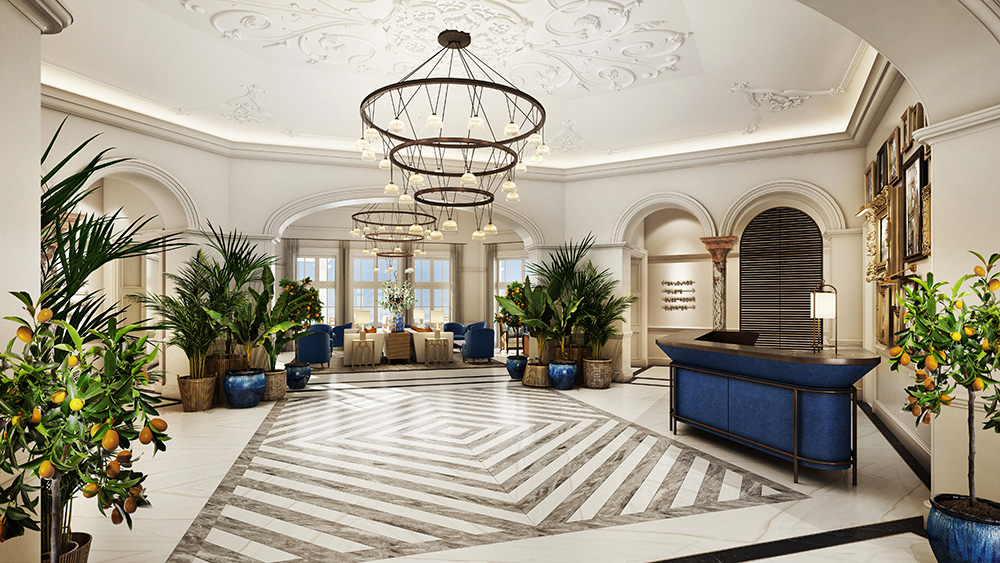 hotel interior design belmond reid palace wimberly interiors watg. Black Bedroom Furniture Sets. Home Design Ideas