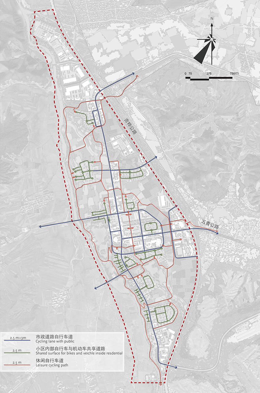 Bei Da Hu New Town Development WATG Cycling Circulation
