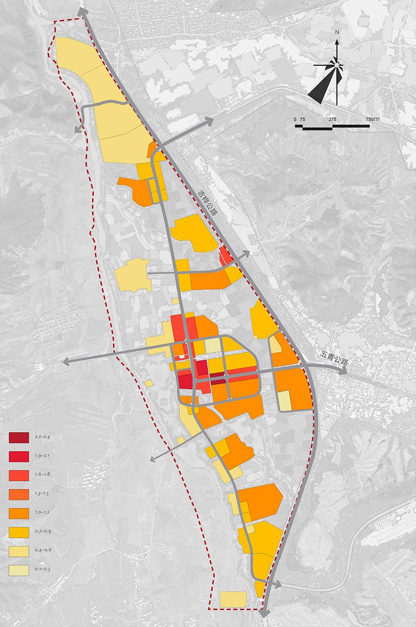 Bei Da Hu New Town Development WATG Overall FAR