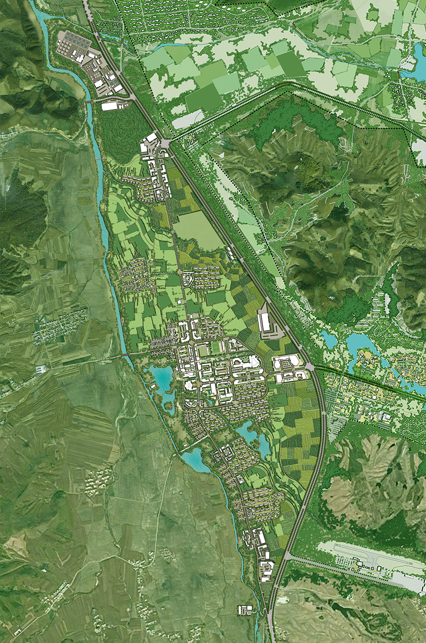 Bei Da Hu New Town Development WATG