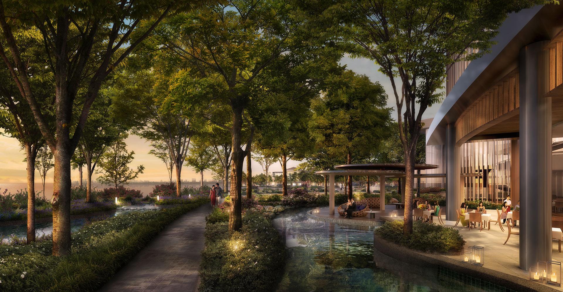 Chengdu Mixed-Use Development and Hyatt Regency Dining