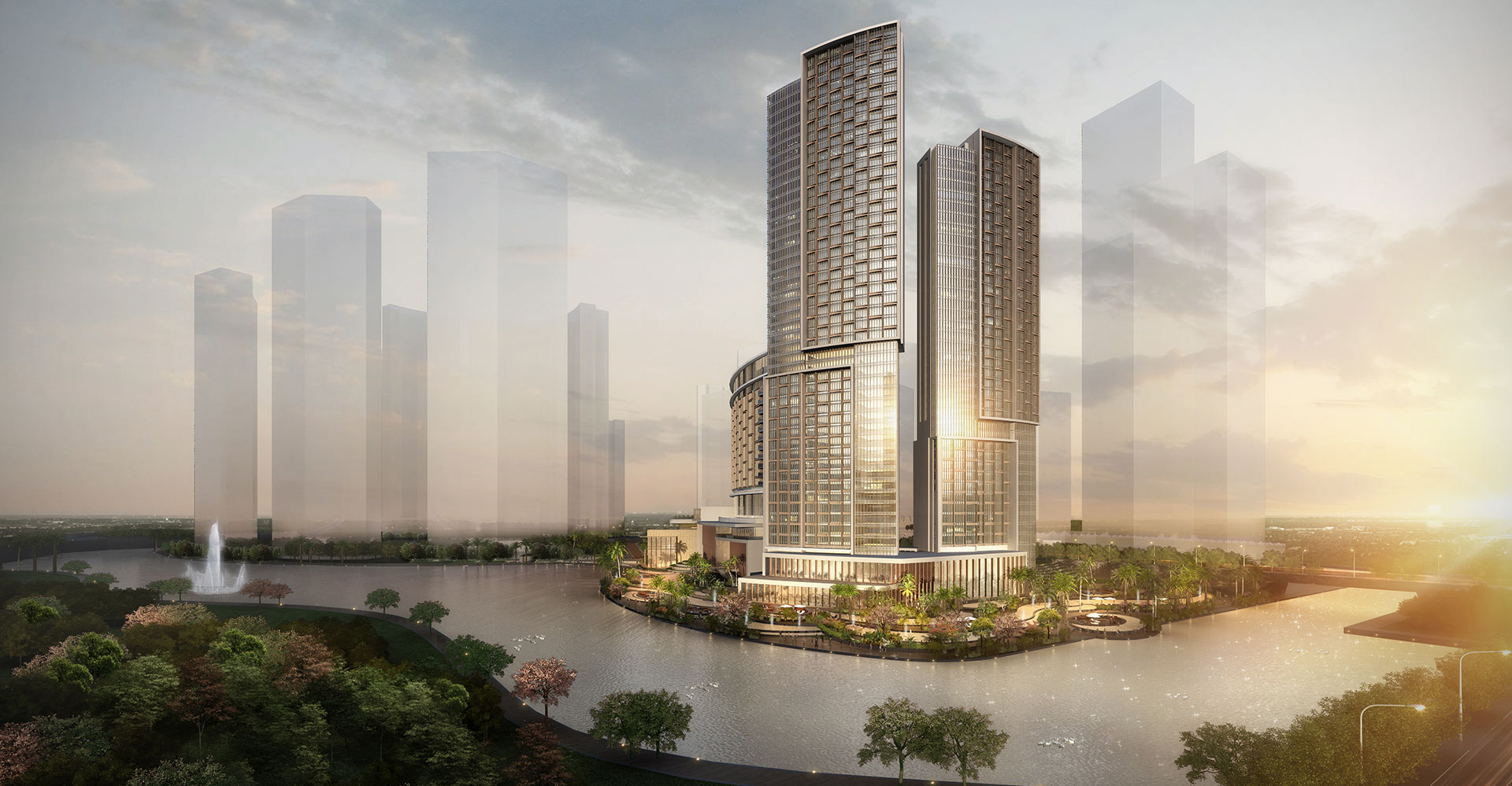 Chengdu Mixed-Use Development and Hyatt Regency Exterior 2