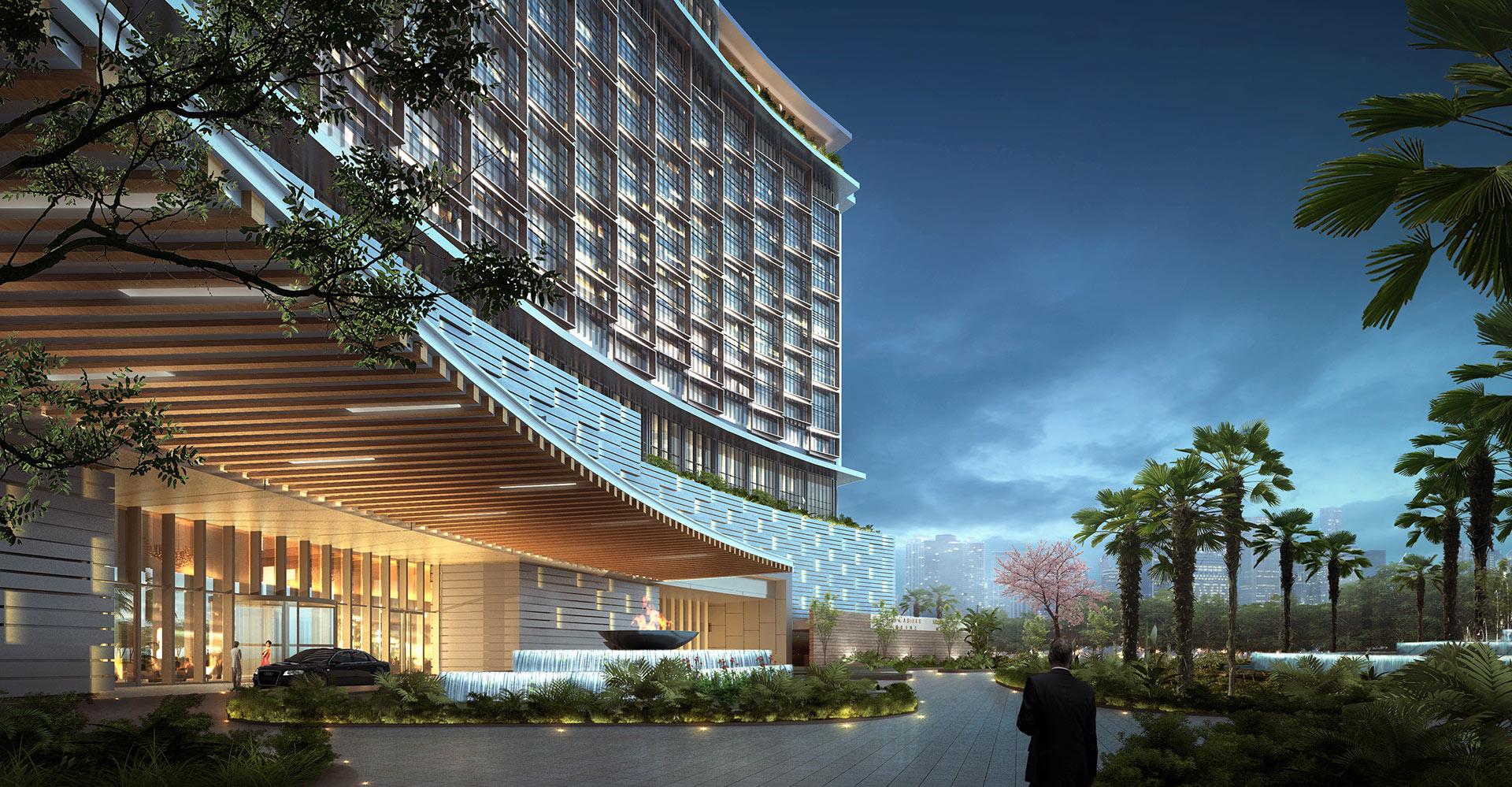 Chengdu Mixed-Use Development and Hyatt Regency Exterior 3