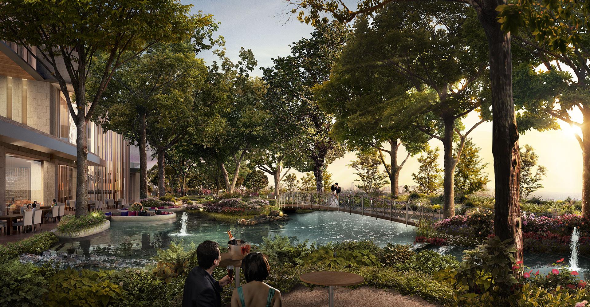 Chengdu Mixed-Use Development and Hyatt Regency Garden