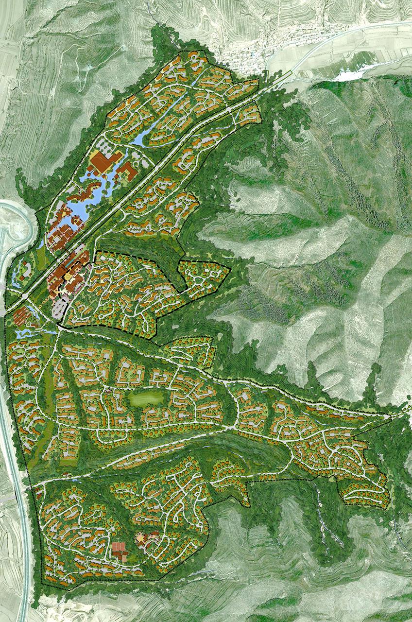 Chongli Ski and Mountain Resort WATG-Master-Plan