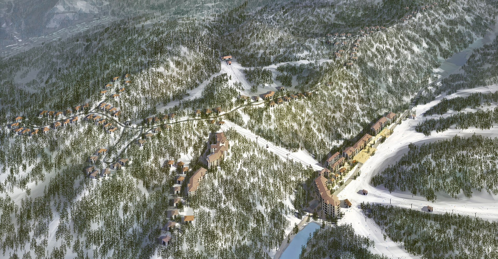Chongli Ski and Mountain Resort WATG view 2