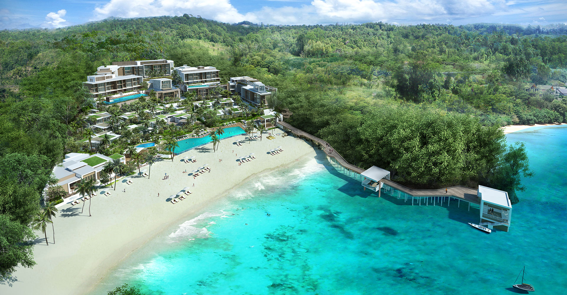 Crimson Boracay Beach Resort Philippines Watg Aerial