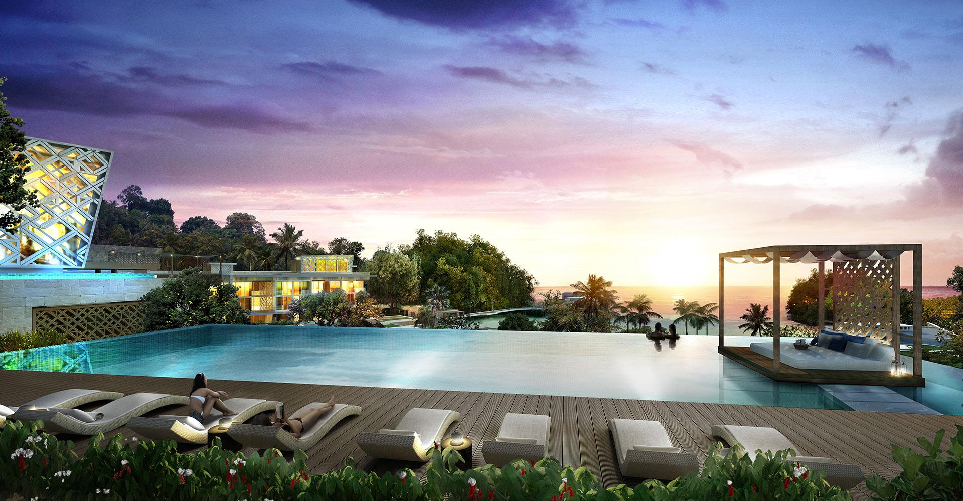 Crimson Boracay Beach Resort - Philippines- WATG - Pool