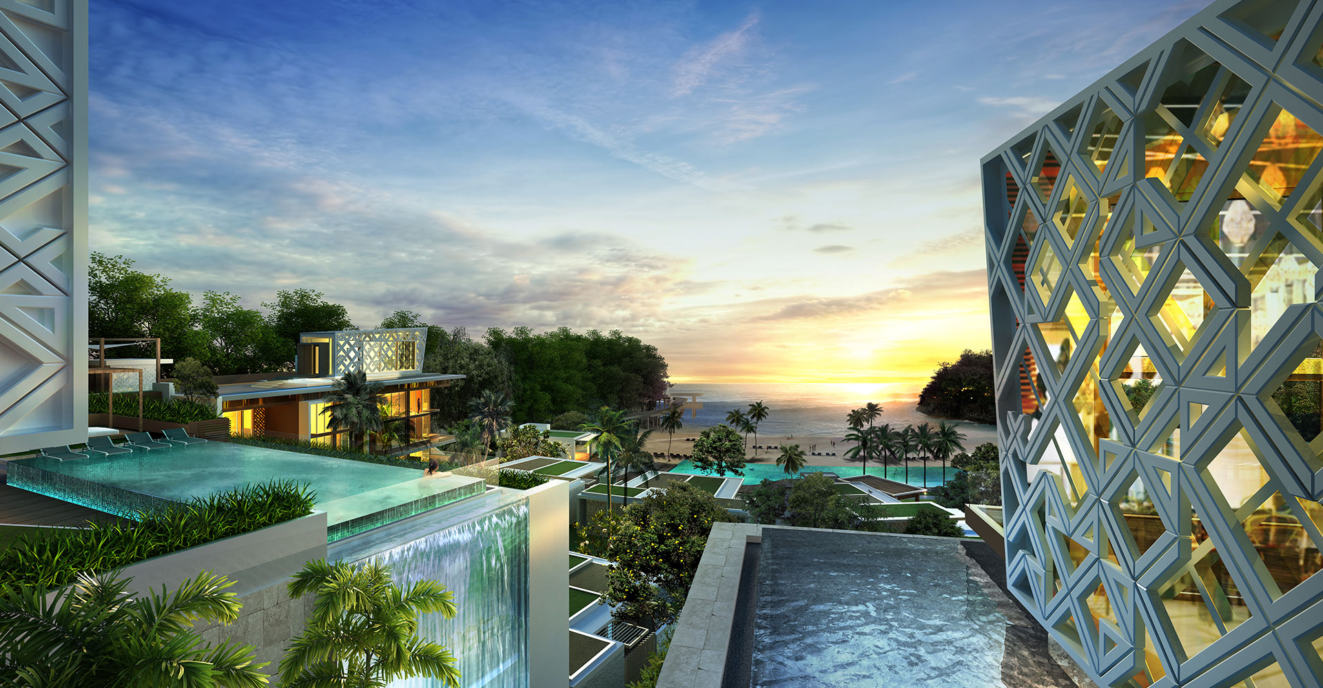 Crimson Boracay Beach Resort - Philippines- WATG - View from Restaurant