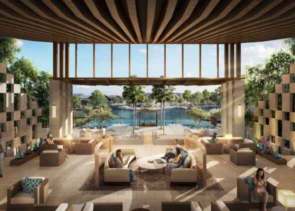 Emerald Bay Clubhouse Malaysia WATG Interior Common