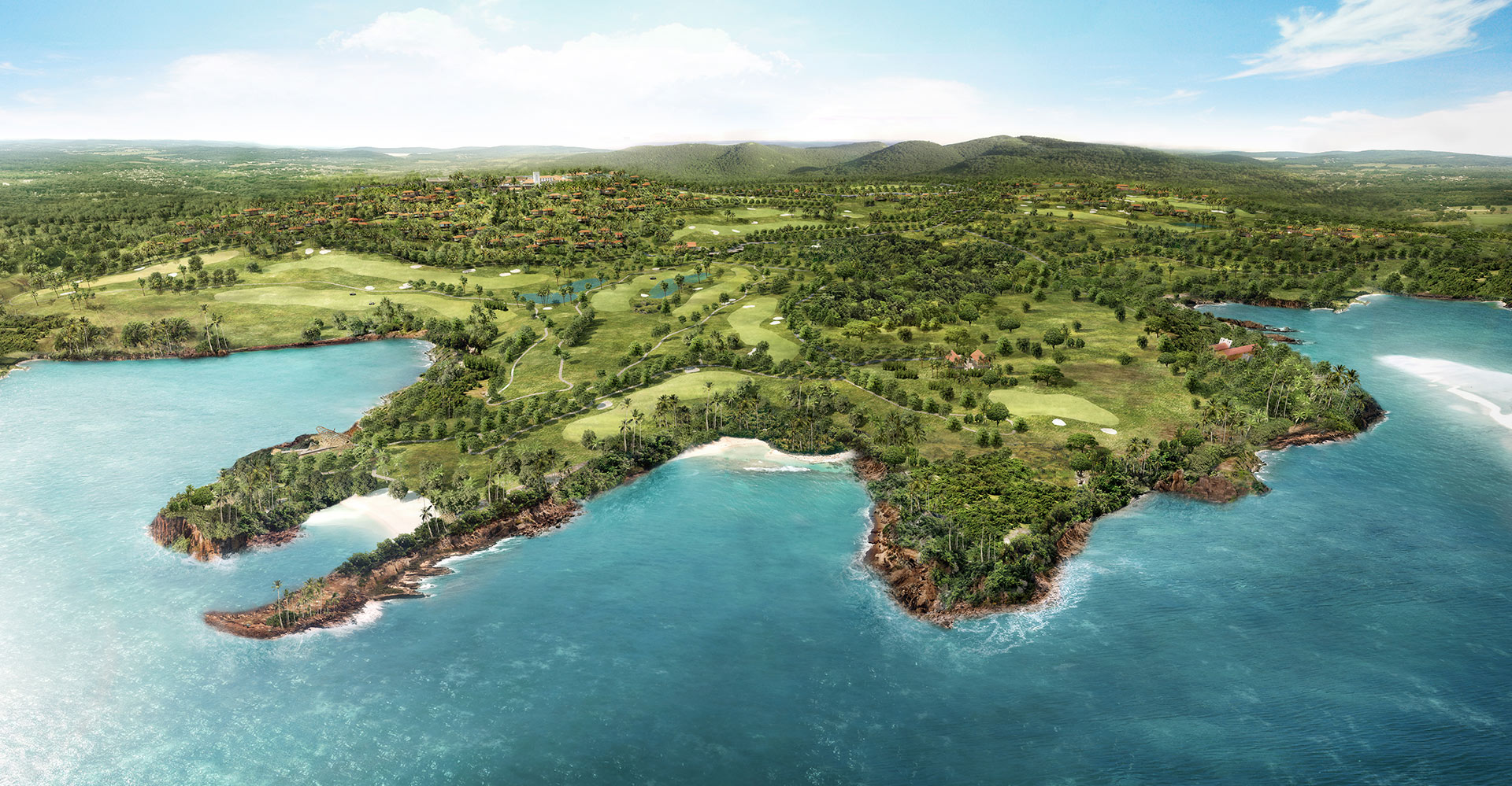 Four Seasons Golf Resort Residences - Goa India - WATG -Aerial