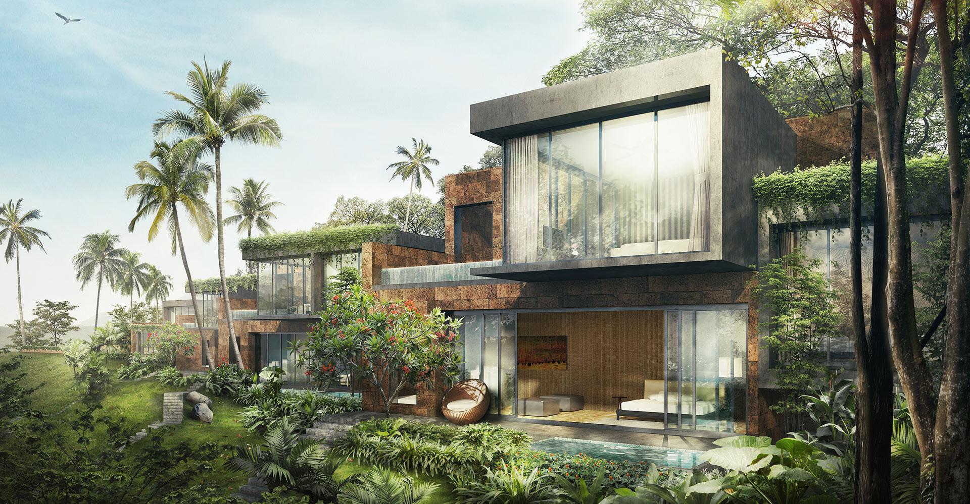Four Seasons Golf Resort Residences - Goa India - WATG - guest house