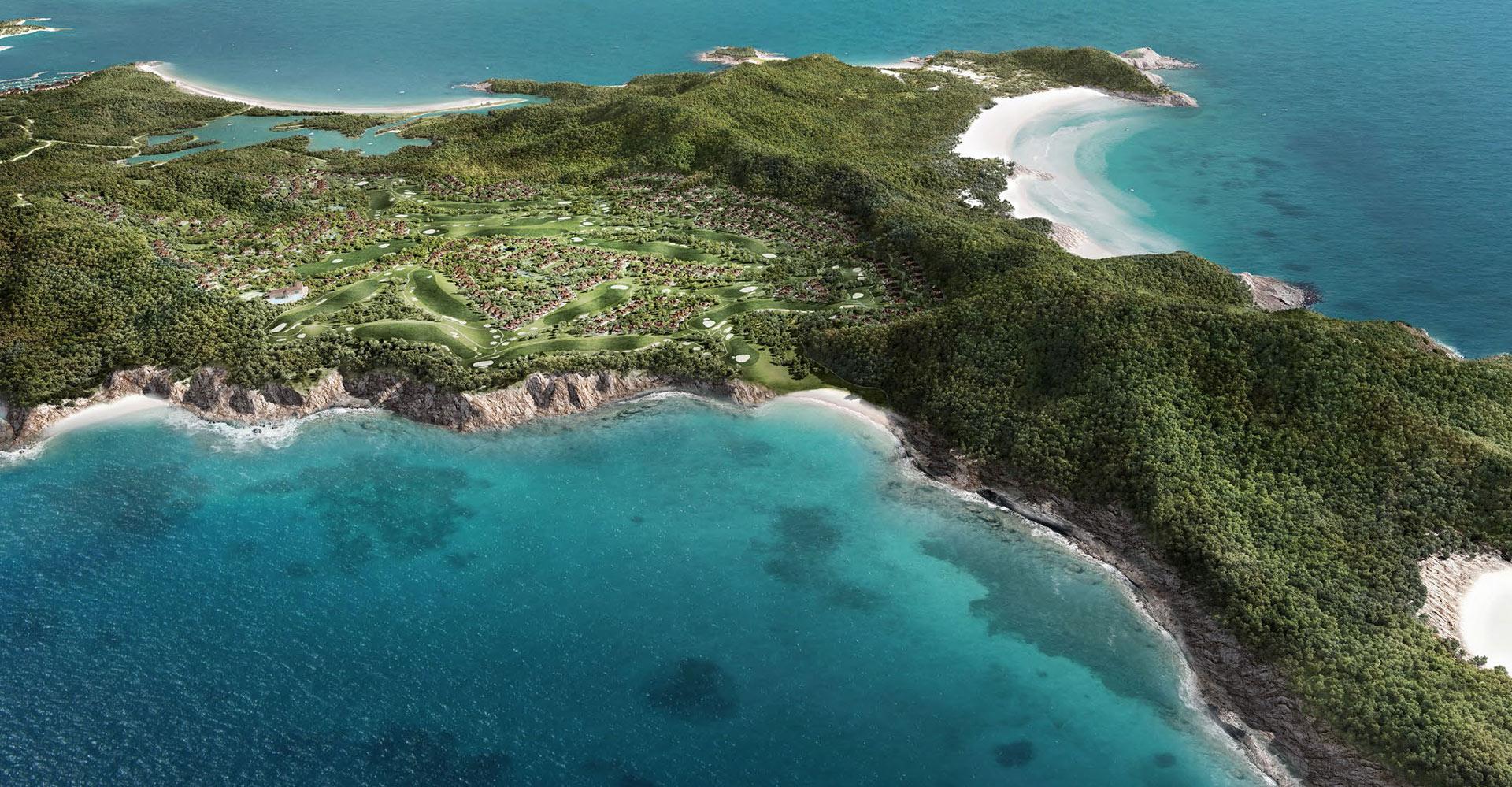 Great Keppel Island - Great Barrier Reef Australia WATG - Aerial 2