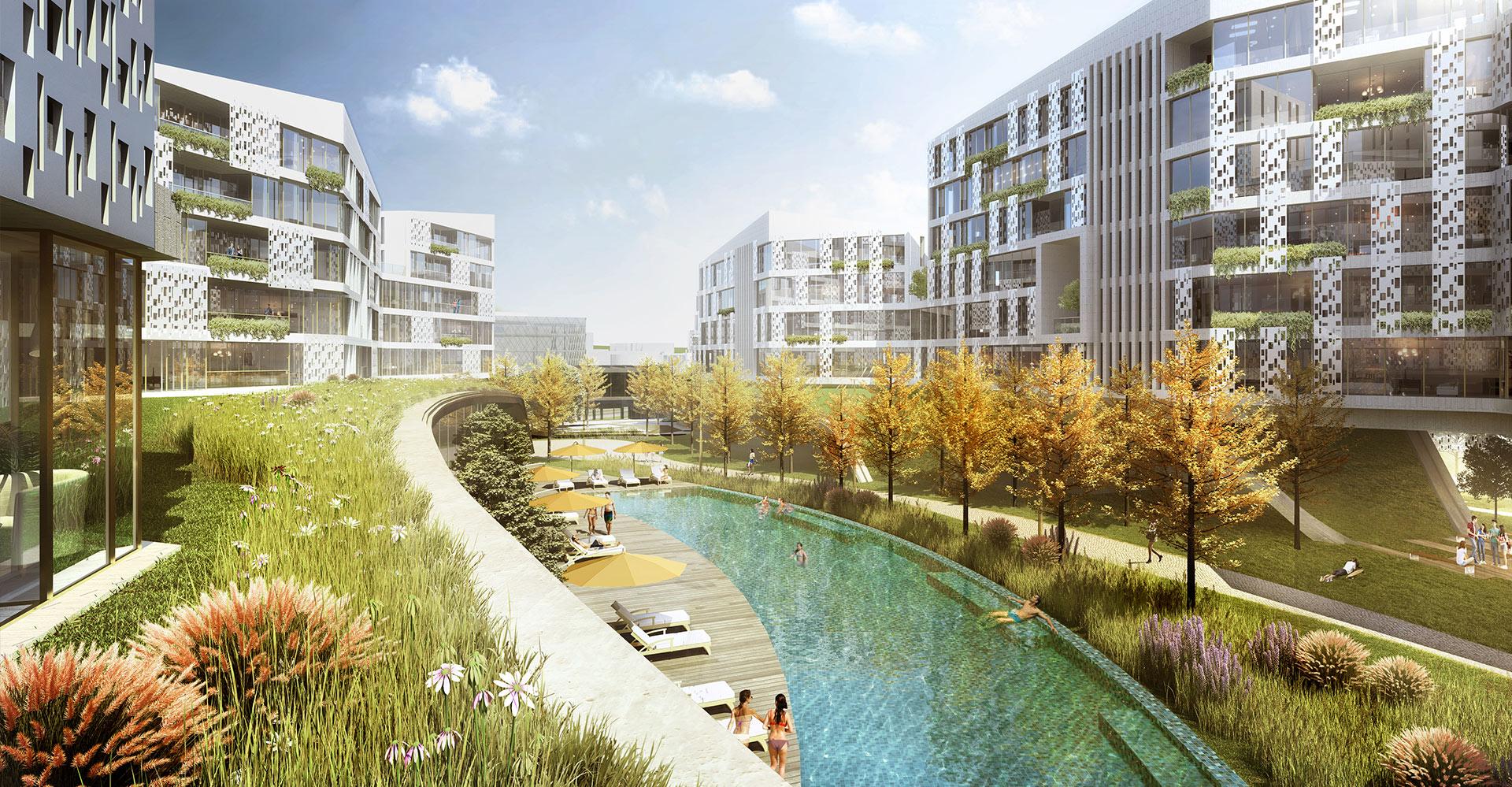 Hannam Residential Seoul Korea WATG Pool Hero