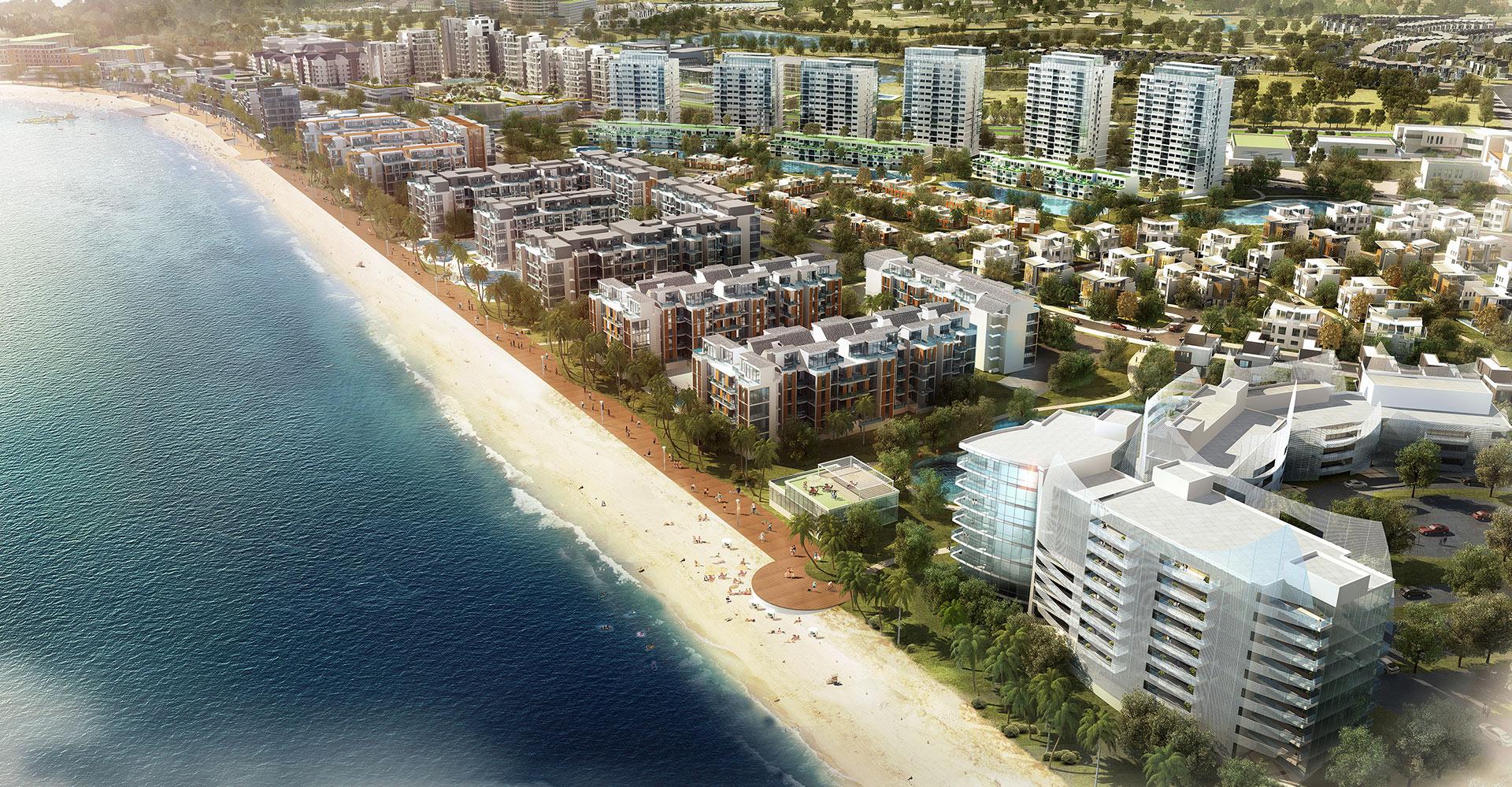 Nuvasa Bay Master Plan - Batam Indonesia - WATG Exterior Beach