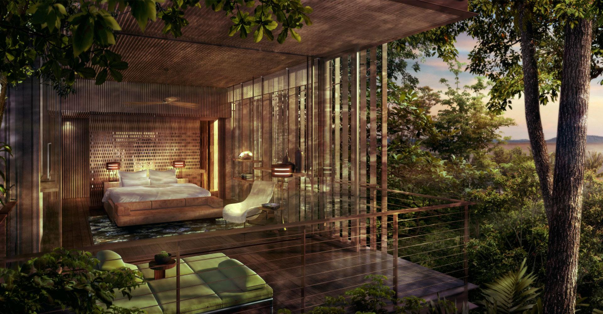 Rainforest Villas - Langkawi Malaysia WATG Guestroom