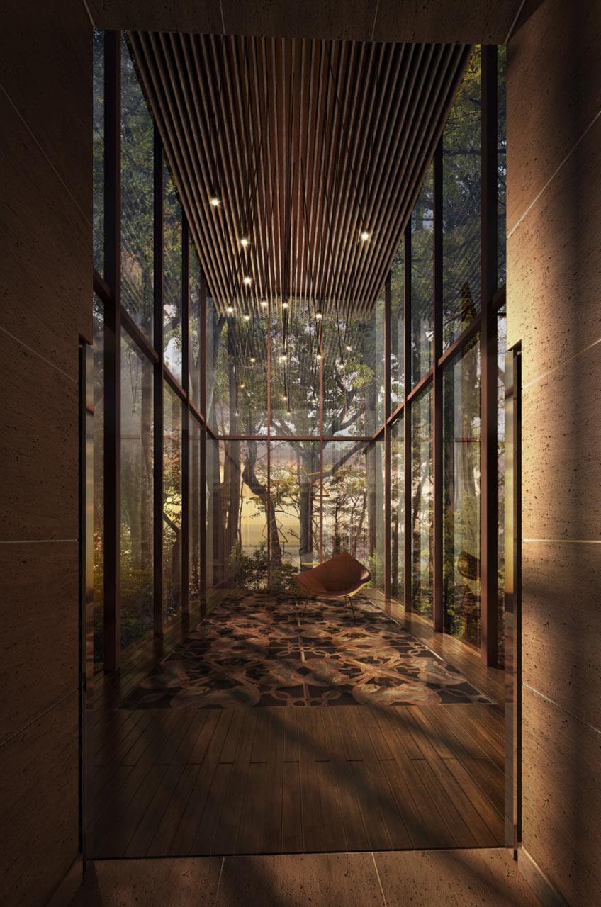 Rainforest Villas - Langkawi Malaysia WATG Interior Tall