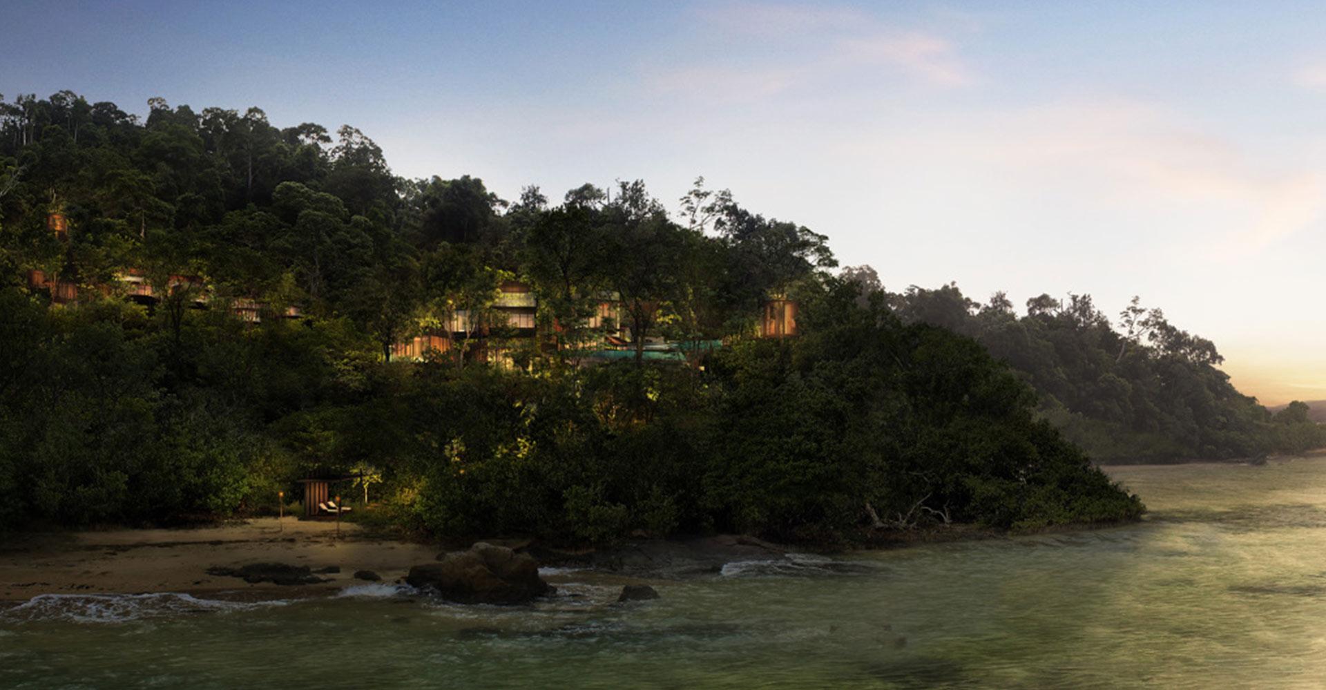 Rainforest Villas - Langkawi Malaysia WATG Ocean