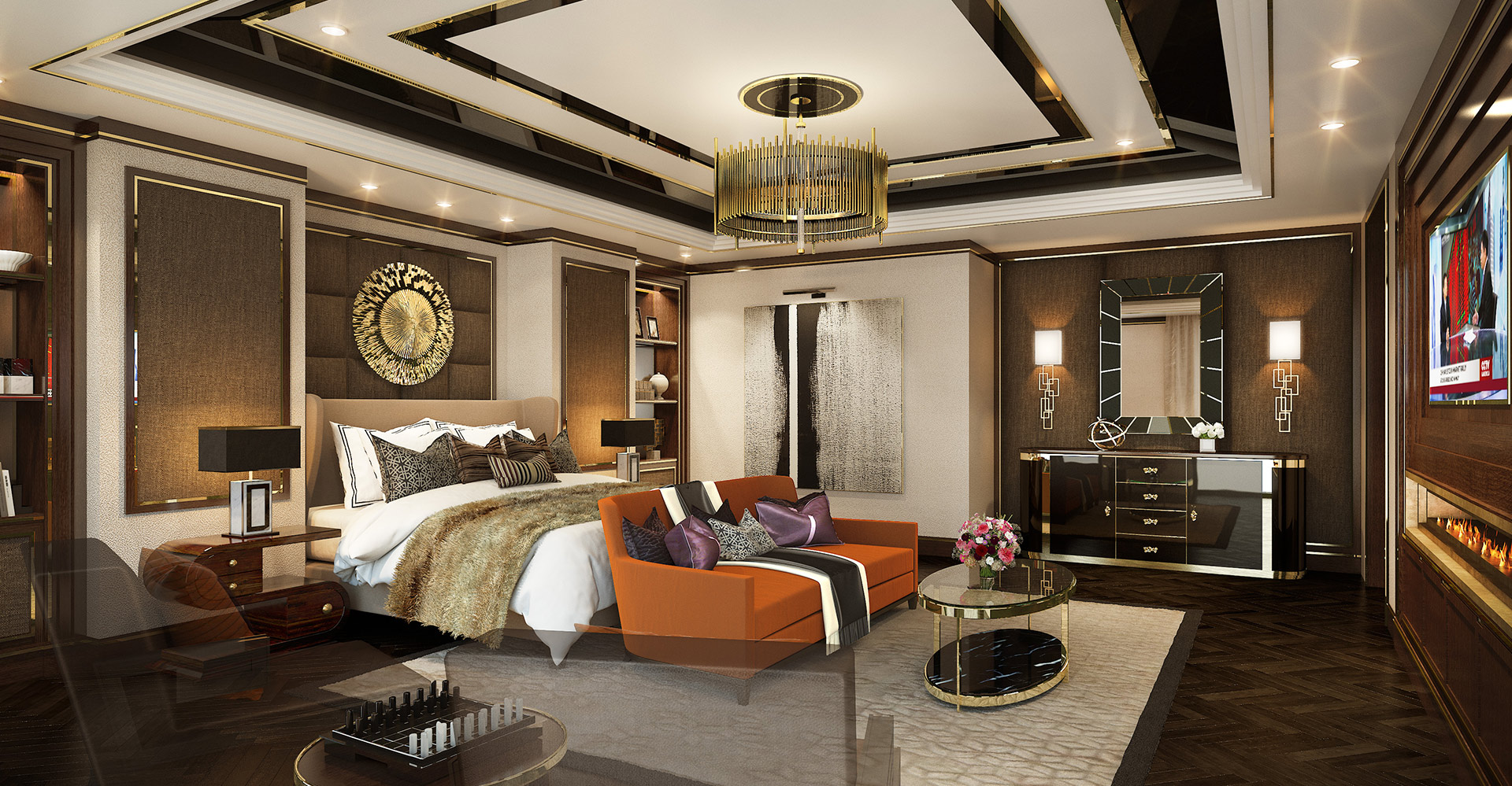 WATG Wimberly Bellagio MGM Shanghai Lobby