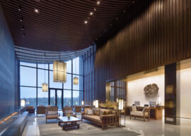 Xianhai Boutique Resort - Mianyang China - WATG - Lobby Reg