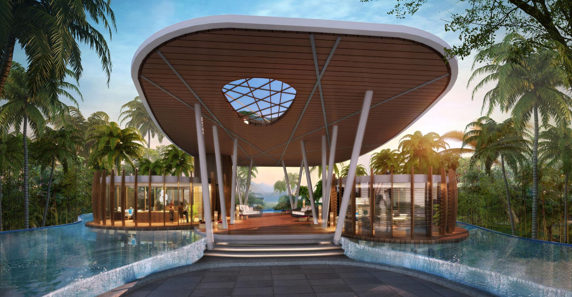 Yanlord Crowne Plaza Resort China WATG Pavillion