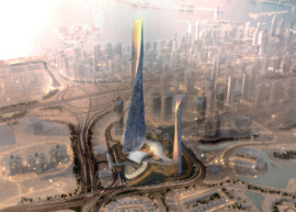 Burj 2020 District UAE Birds Eye