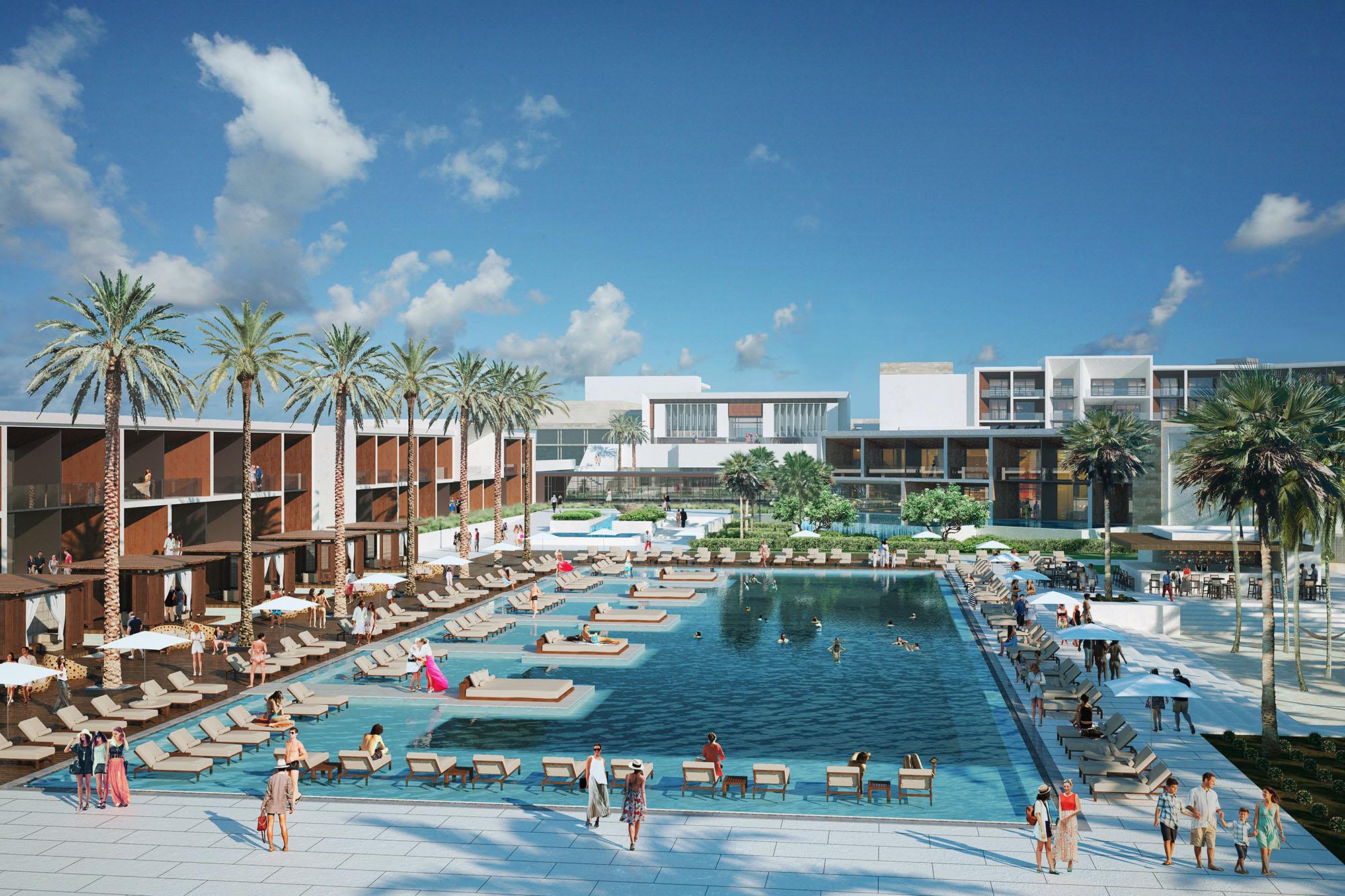 Nobu Cabo Mexico WATG Pool