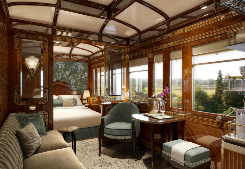 New grand suites on board the venice simplon orient express watg