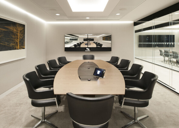 Goodwin Procter Offices - WATG - Conference Room