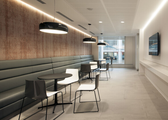 Goodwin Procter Offices - WATG cafe - square