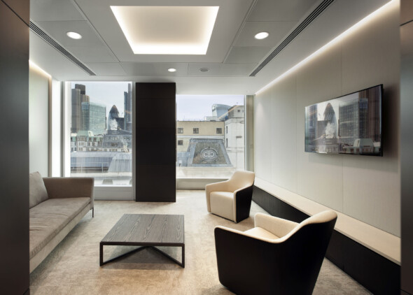 Goodwin Procter Offices - WATG lounge