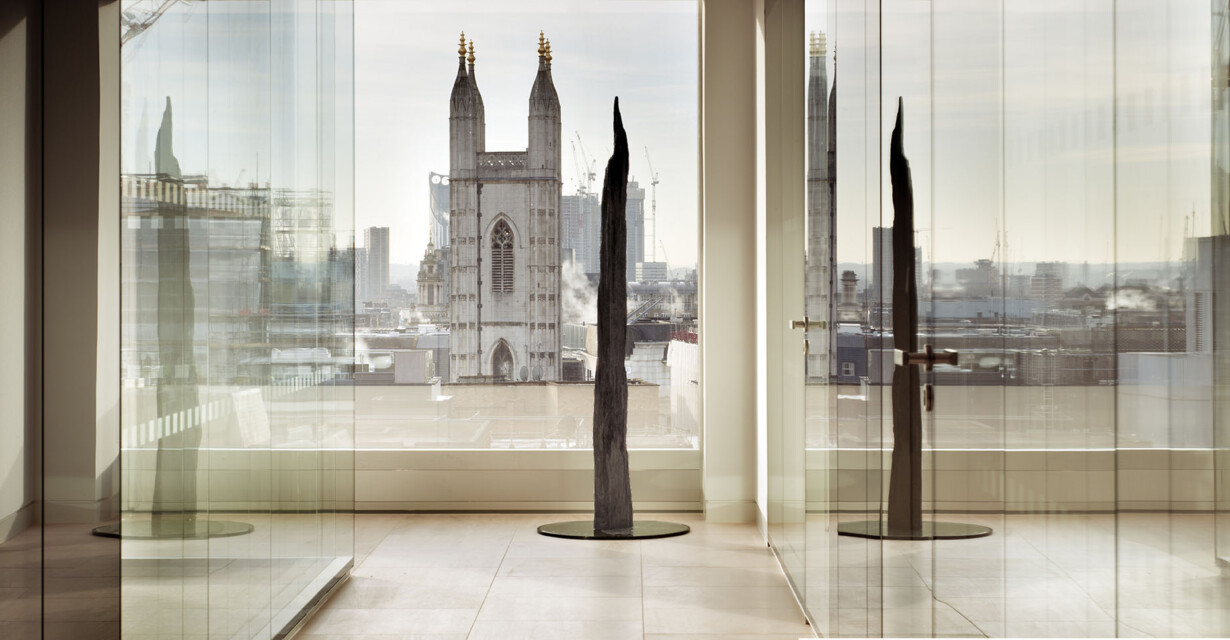 Goodwin Procter Offices - WATG scultpure and view