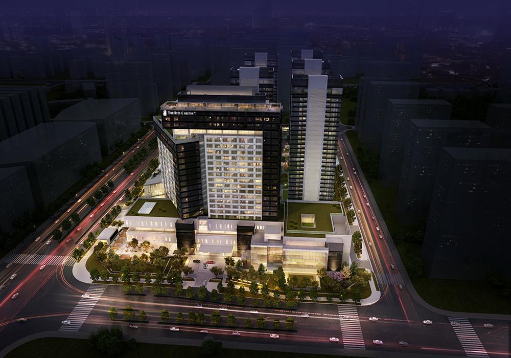 The ritz carlton xi 39 an luxury hotel retail watg for Design hotel xian
